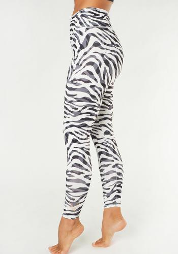 KISMET - Yoga Leggings Ganga 7/8 Zebra
