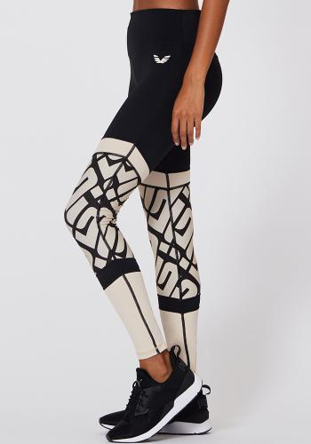 L´URV - Ignition Spliced Legging Black
