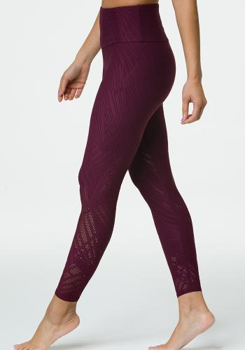 ONZIE - Selenite Midi Legging Burgundy