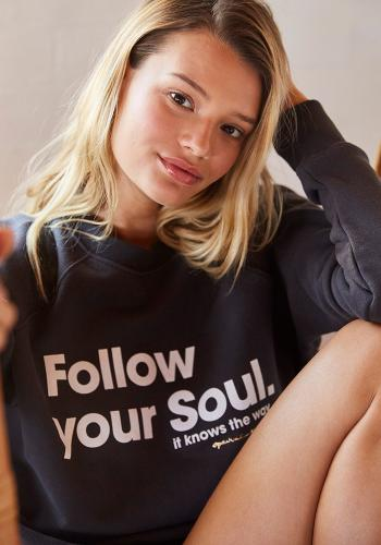 SPIRITUAL GANGSTER - Follow Your Soul Sweater