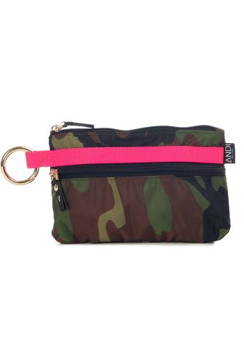 THE ANDI URBAN CLUTCH - Camo Pop Pink